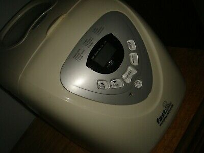 morphy richards fast bake bread maker machine vgc with instructions and measure