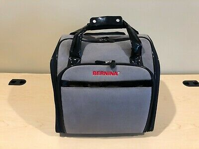 BERNINA Rolling Tote / Trolley / Luggage / Case - Perfect Size for Serger