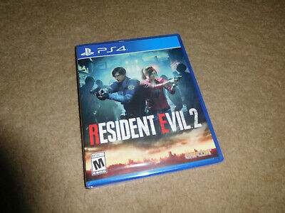 Resident Evil 2 RE2 2019 REmake Playstation 4 PS4 Game BRAND NEW FACTORY SEALED!