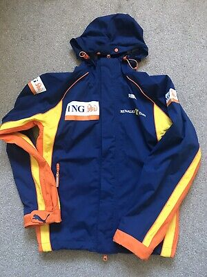 Brilliant Quality ING Renault F1 Team Issue Waterproof Jacket 2008 Season Size S