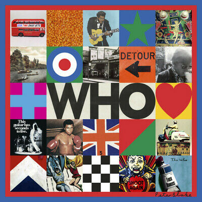 Parche imprimido /Iron on patch, Espaldera /- The Who, new patch