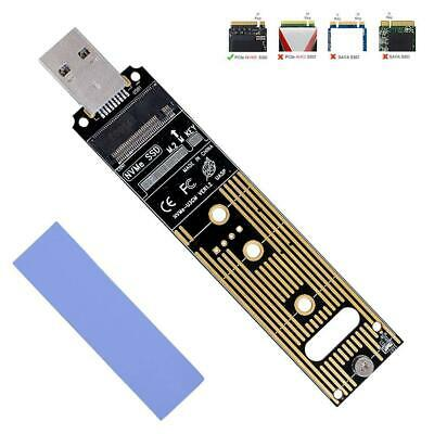 NVME To USB Adapter M.2 SSD To Type-A Card USB 3.1 Gen 2 Bridge Chip To M2 Key M
