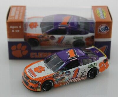 2019 ED POMPA #1 Clemson University National Champions 1:64 Action Free Shipping