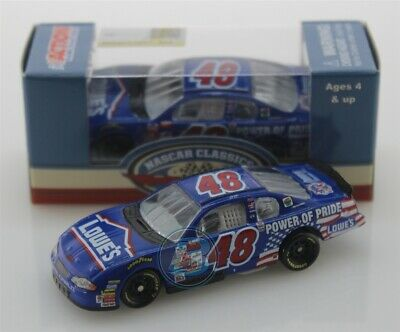 2019 JIMMIE JOHNSON #48  Lowe's Power of Pride First 1:64 Action Free Shipping