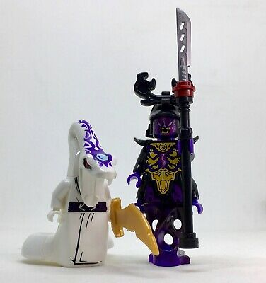 OVERLORD  & PYTHOR  NINJAGO  minifigure lego movie   films TRIBES DUO