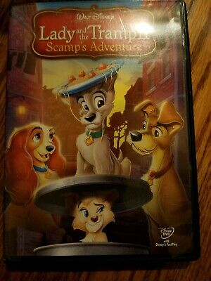 Lady and the tramp 2 scamps Adventure dvd