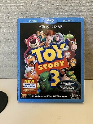 Toy Story 3 Blu-ray 2 - Disc Set FREE SHIPPING