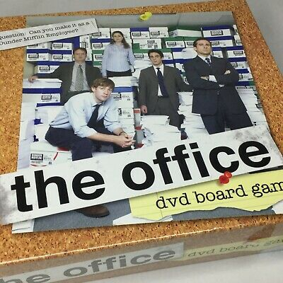 The Office DVD Board Game Pressman 2008 Trivia Factory Sealed New TV Show