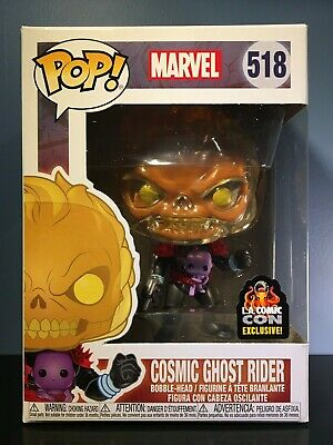 Funko POP! Marvel #518 Cosmic Ghost Rider & Baby Thanos - LACC Exclusive - MINT