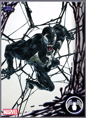 2019 TOPPS SHOWCASE VENOM #7 Topps Marvel Collect Digital Card