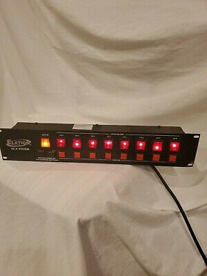 ELATION SC-8 System 8 Channel Lighting Control System Pre-Owned Working