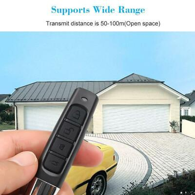 Universal Replacement Garage Door Car Gate Cloning Remote Control Key Fob Hot