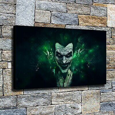 """12""""x22"""" Dark night clown Posters HD Canvas Home Decor Wall art Pictures Painting"""