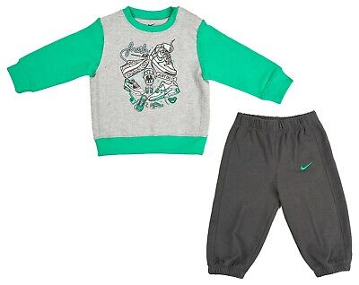 boys Nike jogging set just do it tracksuit joggers  top kids girls