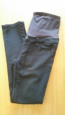 Jeanswest Ladies Skinny Black Maternity Jeans Size 10