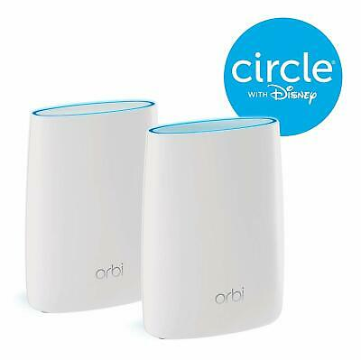 NETGEAR ORBI WHOLE HOME TRI-BAND Wi-Fi ROUTER & EXTENDER RBK50-100 AS NEW