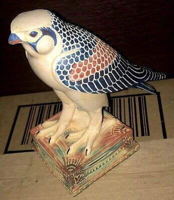 """Summit Collection Horus Falcon Egyptian Statue High Detail 6.5""""x6""""x3.25"""""""