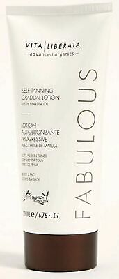 Vita Liberata Fabulous Self Tanning Gradual Lotion Extra Large 200Ml Tube £7.99