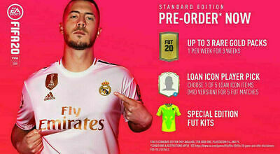 FIFA 20 - Gold Pack DLC Code Ps4 Standard Edition Pre-Order