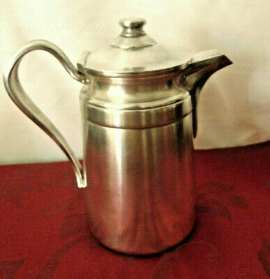 """Vintage Reed & Barton Silver Soldered Pitcher# 4004  7.5"""" x 4""""  #114"""