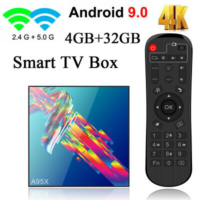 A95X R3 Smart Android 9.0 TV Box RK3318 Quad 4GB+32GB 4K lecteur multimédia Y0D3