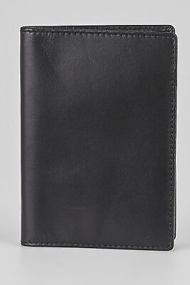 New Colorado Leather Slim Passport Cover Mens Accessories & Others Black