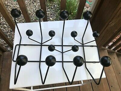 Herman Miller Eames hang it all RACK with BLACK FRAME