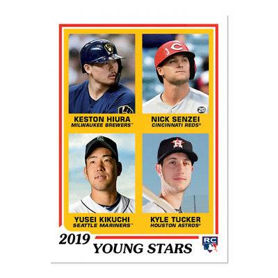 2019 Topps Throwback Thursday TBT Set 45 ~ #267 Hiura Senzel Kikuchi Tucker