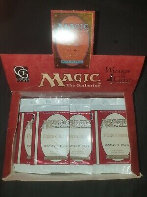 (2x) Magic Booster Fallen Empires Old OVP Sealed The Gathering MTG