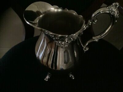 Wallace Baroque Water Pitcher No 267 Silverplate