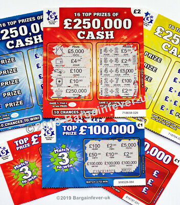 Hen Stag Party Night Joke Lottery FAKE PRANK Scratch Cards Scratchcards LOL