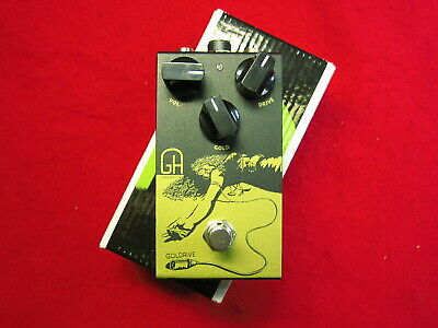 Greenhouse effects Goldrive effect pedal