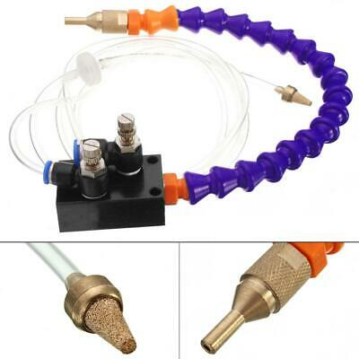 Mist Coolant Lubrication Spray System with 8mm Air Pipe for Metal Cut Cooling