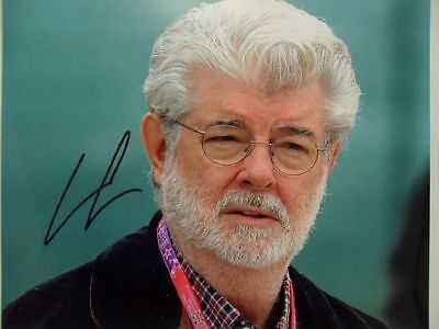"""George Lucas """"Star Wars"""" 8x10 Signed Photo Auto"""