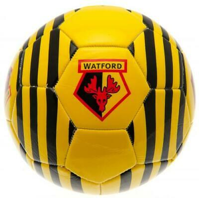 Watford Fc Crest Design Size 5 Official Football - Xmas Gift