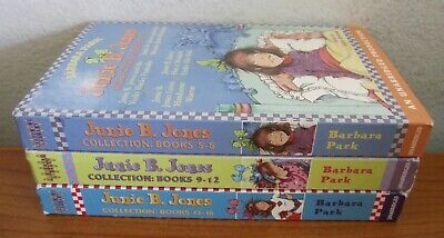 Lot Of 3 Junie B Jones Audio Books On Cassette Tapes Books 5-16