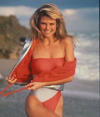 Christy Brinkley - In A One Piece And A Smile !!!