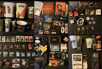 HUGE Movie Promo Swag LOT (Limited Edition Exclusive Theater Collectibles +MORE)