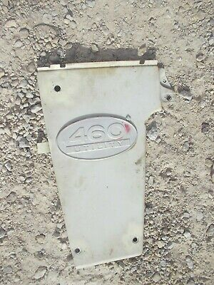 International Farmall 460 IHC IH utility tractor front Left side panel & emblem