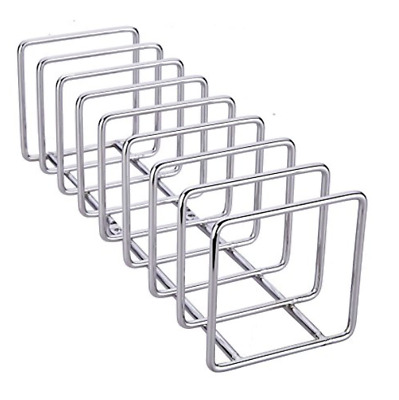 NEW Pro Chef Kitchen Tools Stainless Steel Pot Lid Organizer Holder Drying Rack