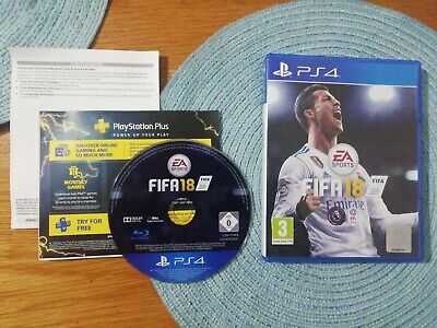 Fifa 18 Ps4 - Mint Condition Super Fast Shipping