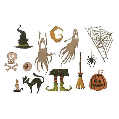 """Sizzix Thinlits Stanzschablone """"Frightful Things by Tim Holtz"""""""