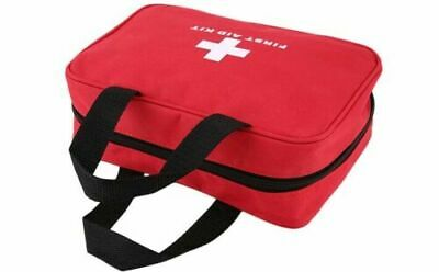 90 Pcs First Aid Kit Bag Medical Emergency Kit Travel Home Car Taxi Workplace UK