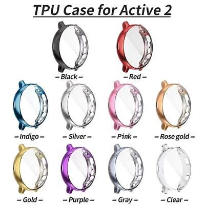 Full Screen Protector Watch Case Cover For Samsung Galaxy Watch Active 2 40/44mm