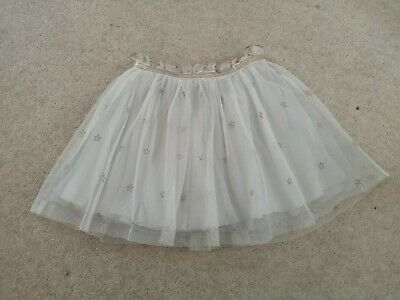 Girls Next silver and rose gold star tutu skirt, age 12-18 months