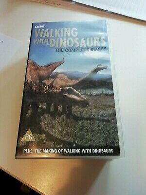 BBC's Walking with Dinosaurs The Complete Series VHS Tape