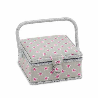 HobbyGift Square Sewing Box (S) - Stars and Stripes