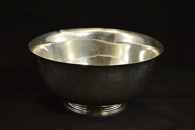 Sterling Silver Tiffany & Co. Footed Revere Bowl 23616 Fine Silver *70