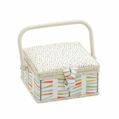 HobbyGift Square Sewing Box (S) - Foxy Dash