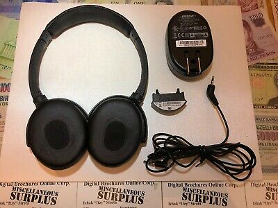 Bose Quiet Comfort 3 QC3 Acoustic Noise Cancelling Headphones QuietComfort
